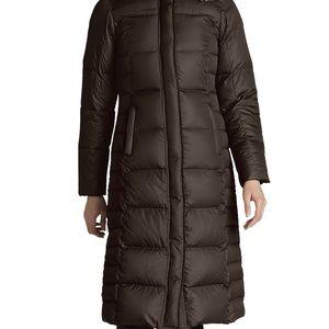 Eddie Bauer long puffer coat
